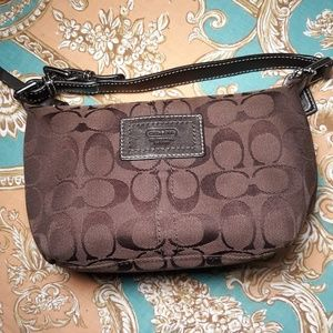Authentic Coach mini purse/clutch.